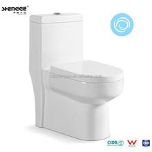 One-piece cyclone flushing classica sanitaryware