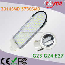 Hot selling plc 6w 120v, 13w g23 led light, g24 6w led replacement cfl 13w