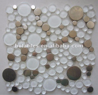 Best sales high quality super white glass tiles
