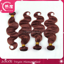 New Arrival 100% Pure Indian Hair Virgin Indian Human Hair Color 33 Curly Indian Remy Hair