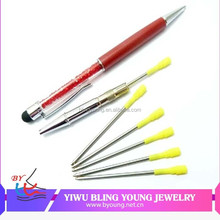 Wholesale custom logo crystal pen