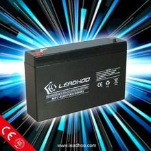 dry cell rechargeable batteries,6v 7ah battery