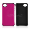 New mobile phone cover for iPhone 4s PC silicon hybrid case