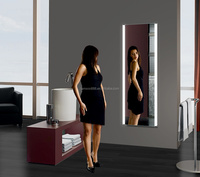 Best gift for Christmas broadway lighted vanity mirror ,illuminated bathroom mirror with led ligths
