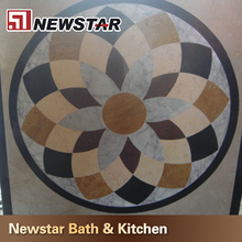 Made in China hot sales polished water jet marble designs