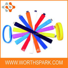 top seller !1GB silicone bracelet usb flash drive