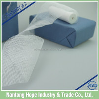 paper packed surgical cotton gauze bandage for medical use