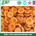 Atacado chinês iqf/frozen apricot metades de damasco fresco frutas 2015 nova temporada