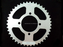 sprocket motorcycle part YBR125 Front sprocket zinc with cnc