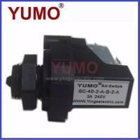 YUMO SC-40 air pressure sensor Adjustable micro switch manual reset pressure switch