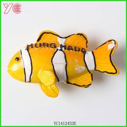 YC1412433 china supply hot sale cute decorative fish shape egypt fridge magnet