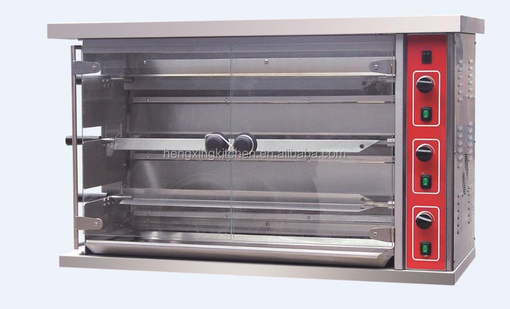 chicken commercial rotisserie oven machine gas