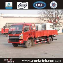 China Manufacture 7 ton 140HP Diesel LHD Transportation Delivery Truck For Sale