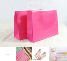 Custom Printed Paper Bag with Twist Handle
