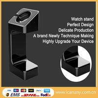 Alibaba store 2015 hot sale fashion plastic material phone watch holder for apple watch stand