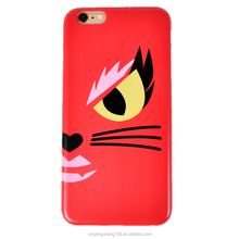 Factory Direclty Supply IML Colourful Cartoon Cat TPU Phone Case for iPhone 6