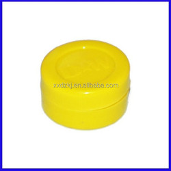 OEM durable wax storage containers silicone concentrate containers Foldable stackable silicone jars