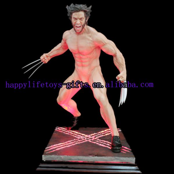 Cosmic Group Figurine X MEN : Statuette en résine : Wolverine 12 cm pas