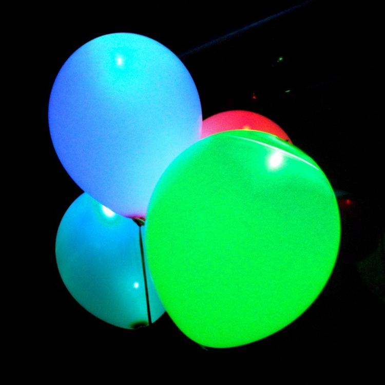 China balões de hélio ballon led <span class=keywords><strong>piscando</strong></span> piscar com luz led no interior