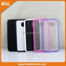 2015 Hot selling new whole sell price colorfule bumper TPU+ PC case for Samsung Galaxy S6