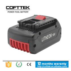 Power Tool Battery For Bosch Cordless 18V 3.0AH Drill Battery PB360S RHH180-01 RHS181-01