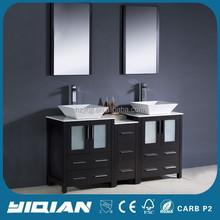 Double Sink Modern Bathroom Furniture Ideas,with counter top Bathroom Vanities