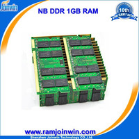 Best price low density 64mb*8 333mhz pc2700 1gb ram ddr1 portable