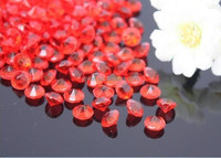 All sizes color Acrylic Crystal Diamond Vase Beads Scatters, Wedding Party Confetti Table Scatters Decoration Good Crafted DIY