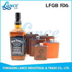 Good quality 5oz stainless steel factories hip flask