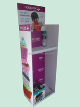 Cheap Custom Printed Bottle Cardboard Display Stand for boxes