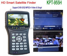 "DIHAO Tech KPT-955H Output 4.3"" HD Satellite Finder Meter ,support DVB-S/S2,MPEG 4 Vide & Signal"
