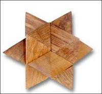 Brain Teaser Wooden Puzzle TPZ09