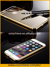 Mirror Metal Aluminum Case for iphone 6s/6s plus,Shockproof Cover For iPhone 6s/6S Plus