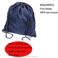 Best price eco-friendly nylon drawstring bag