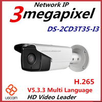 Hikvision 3.0MP H.265 p2p all in one ip network camera DS-2CD3T35-I3