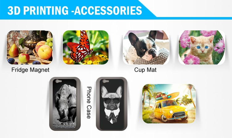 3 3D Printing 3D phone case 3D printing with light box decorative painting