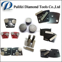Diamond Grinding Tool HTC/PCD Grinding Pad Marble Granite Concrete Floor Grinding Segment for HTC Grinder/Polisher
