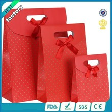 2015 small medium big red paper bag design