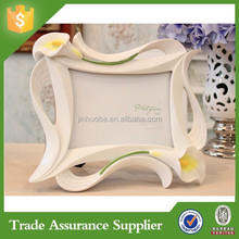 Lily relief beautiful photo frame home decoration