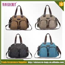new products waterproof outdoor sport travel messenger canvas duffle bag for teenagers
