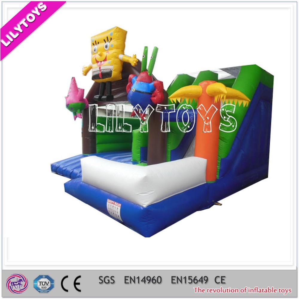 Inflable mini jumper combo venta, mini inflable parque de atracciones