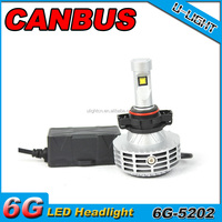 GZ ULIGHT professional led headlight conversion kit, h16 5202 led conversion kit with built-in canbus