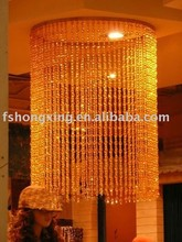BC04 hanging crystal acrylic Beaded Curtains for wedding and party decoration