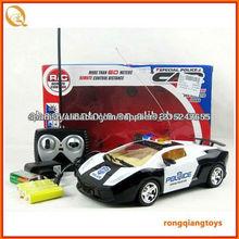 Juguete de radio del coche de carreras de coche del policía del coche del control del más nuevo canal de 1:16 RC1928135-1