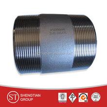 ASTM A53 Gr.B pipe nipple sch40