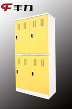 Alta calidad uso de gimnasio de acero de 4 puerta room locker con smart card lock