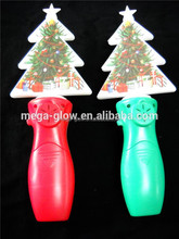 New year electronic Christmas Flashing Spinner Toy
