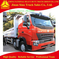 Sinotruck Howo A7 type large capacity 8x4 dump truck