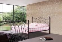 Double Queen size Designer Antique home platform Metal bed