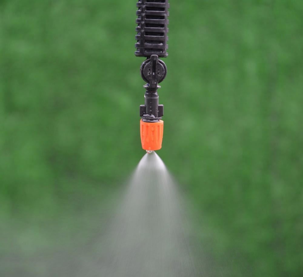 De la croix r glables hot plastique l 39 eau de brume for Brumisateur de jardin